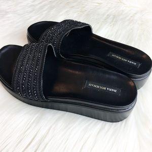 b979da8a3b07 Dana Buchman Shoes - Dana Buchman Black Beaded Slides